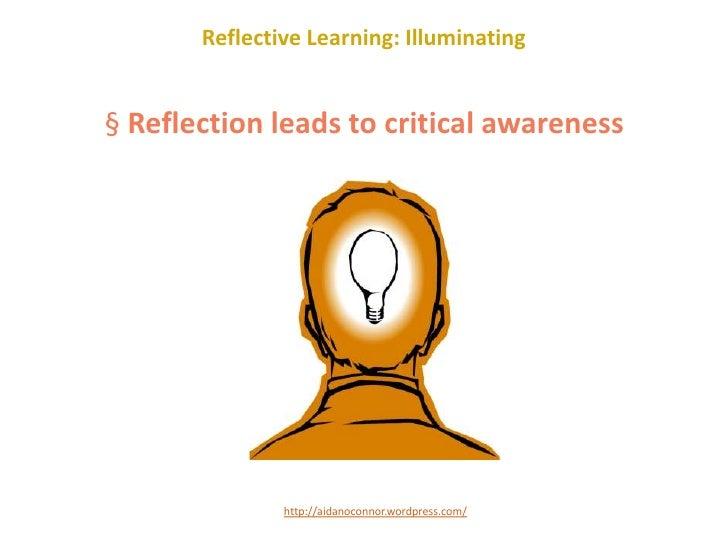 a reflective person