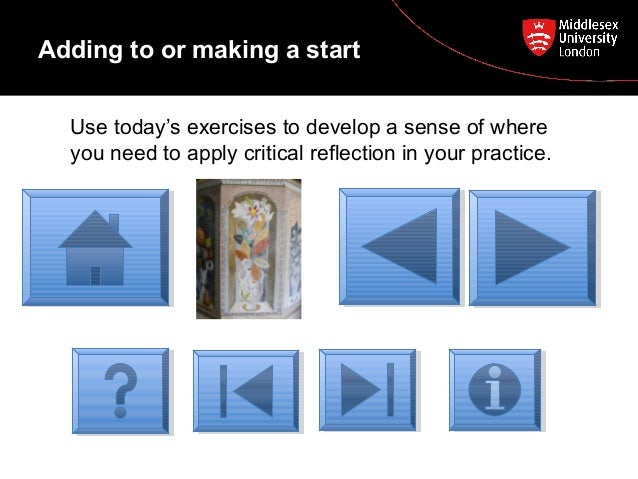 Write to Learn: Reflective Practice Writing