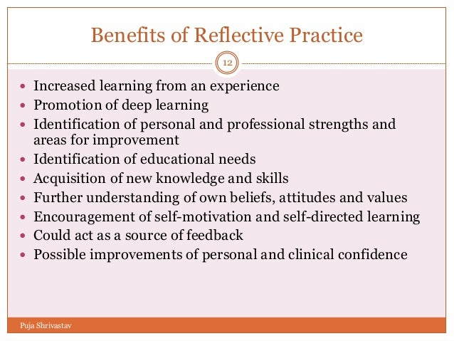 demonstrate the ability to reflect on own practice Facilitating reflection  they also recognize and foster the groups own ability to lead  it is helpful to practice responding to challenging situations by role.