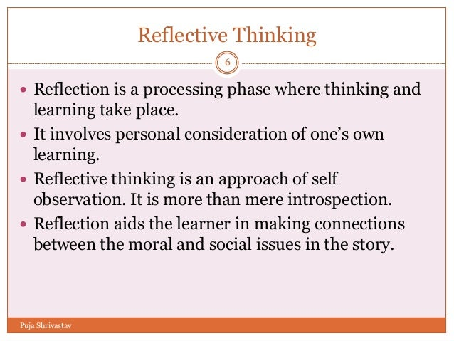 On Stories Thinking in Action