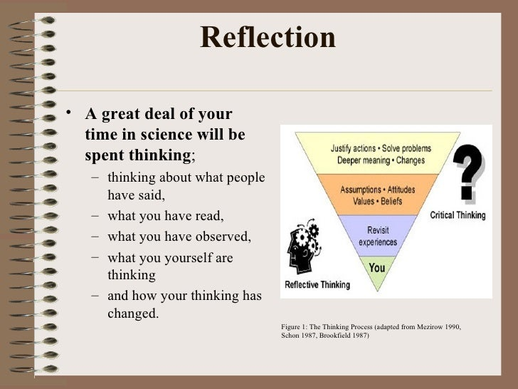 How to be a better essay write the reflective piece