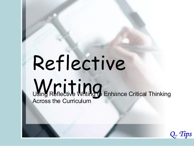activity essay reflective writing To recap, the key to writing a reflective essay is demonstrating what lessons you have taken away from your experiences, and why and how you have been shaped by these lessons the reflective thinking process begins with you – you must consciously make an effort to identify and examine your own thoughts in relation to a particular experience.