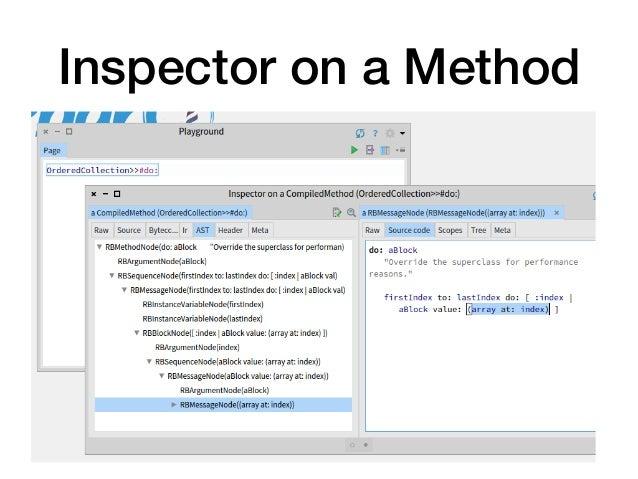 Inspector on a Method