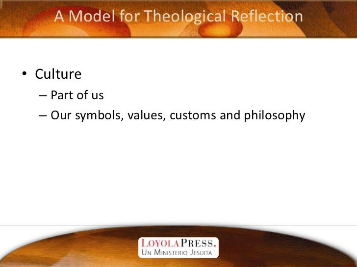 an introduction to theological reflection Th-631 theological issues in christian-muslim relations ipp students should write a 2000 word reflection paper on one of the theological introduction to.