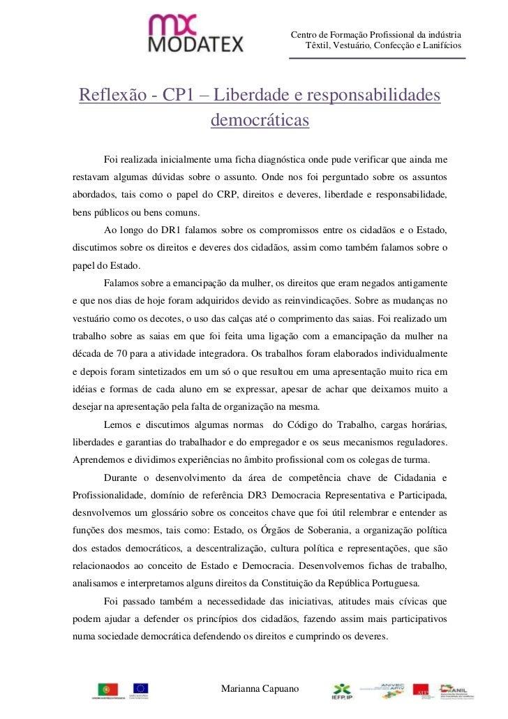 Centro de Formação Profissional da indústria                                                       Têxtil, Vestuário, Conf...