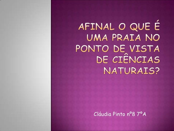 Cláudia Pinto nº8 7ºA