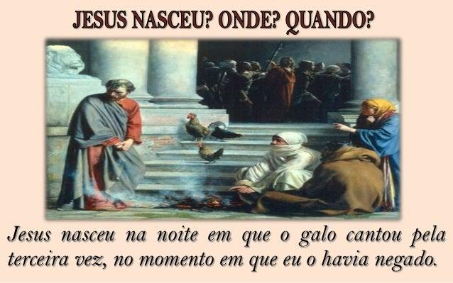 Jesus nasceu na estrada de Damasco quando, envolvidopor intensa luz que me deixou cego, pude ver a figuranobre e serena qu...
