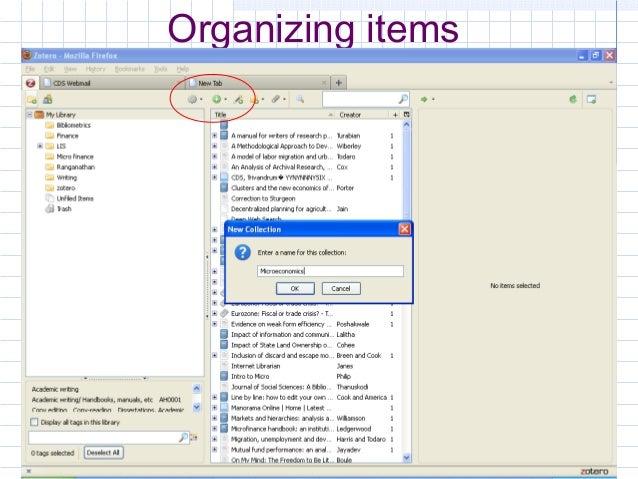 zotero desktop pdf to bibliography
