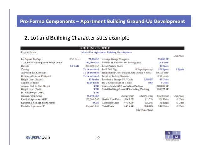 Pro Forma Example Excel Aprildearest