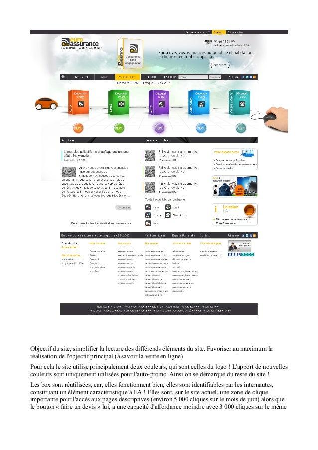 Objectif du site, simplifier la lecture des différends éléments du site. Favoriser au maximum la réalisation de l'objectif...