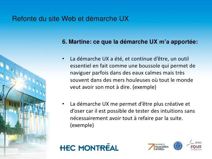 La gestion des contenus à HEC Montréal est décentralisée (entre 80 et 100 édimestres);