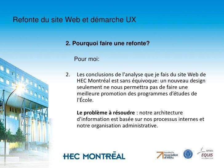 En septembre 2007, l'équipe peut compter sur une intégratrice web. </li></li></ul><li>Refonte du site Web et démarche UX<b...