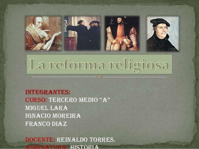"""Integrantes:Curso: Tercero Medio """"A""""Miguel LaraIgnacio MoreiraFranco DiazDocente: Reinaldo Torres."""