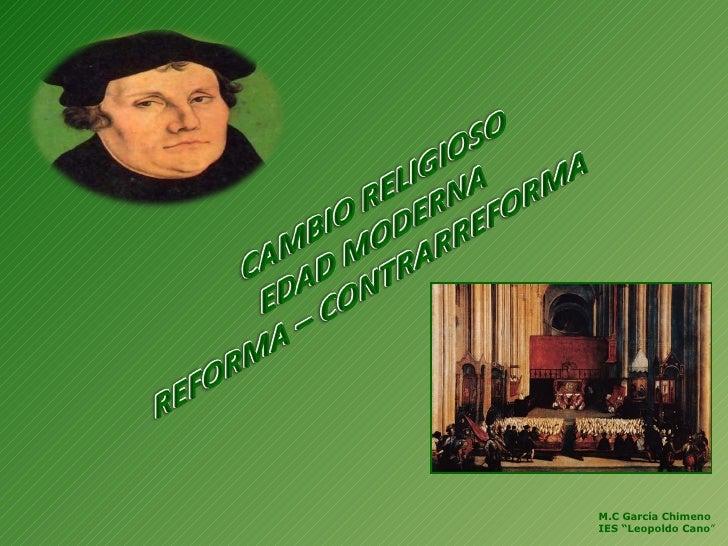 """M.C García Chimeno IES """"Leopoldo Cano """""""