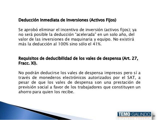 Reforma hacendaria aprobada for Galindo alquiler de maquinaria