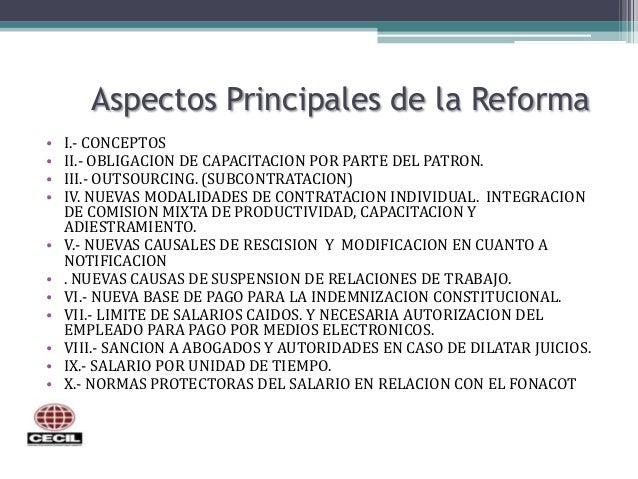 reforma laboral 2012