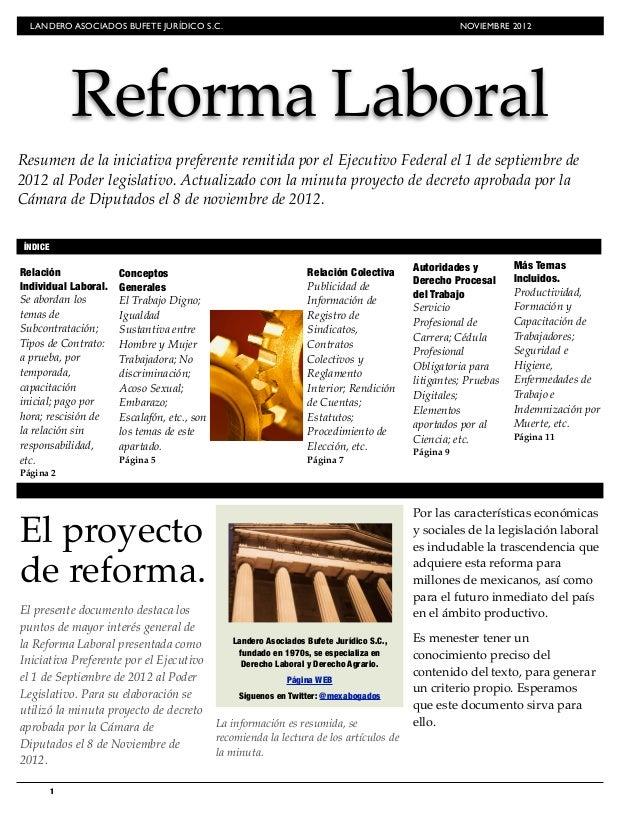 REFORMA LABORAL 2012 MEXICANA EBOOK DOWNLOAD