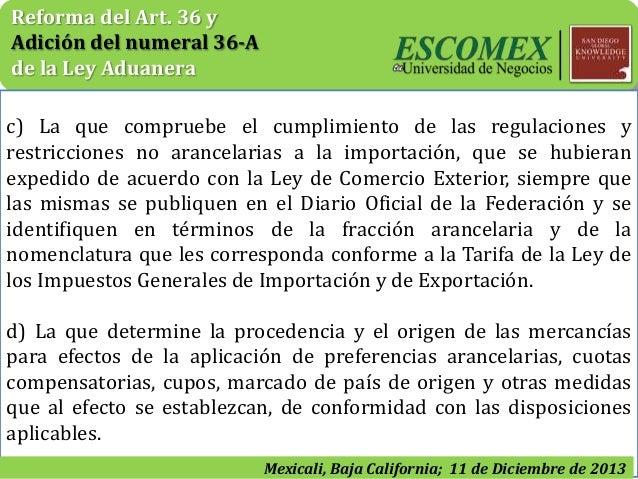 Reformas A La Ley Adunera Dof Dic 9 2013