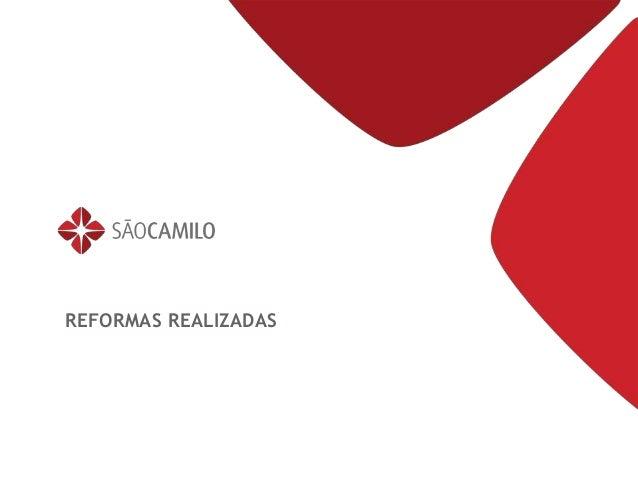 Título da apresentação 00/00/00REFORMAS REALIZADAS