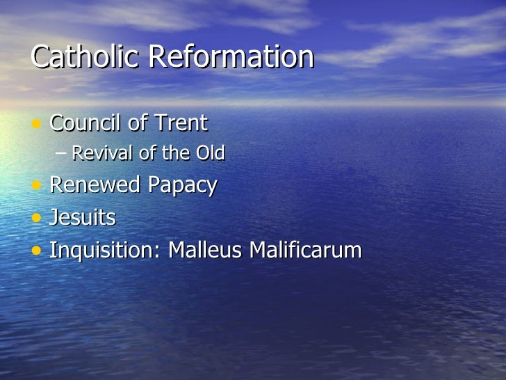 Reformation and religious wars catholic reformation ccuart Choice Image