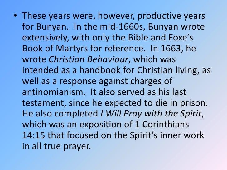 the transformation of christian in pilgrims progress a novel by john bunyan Review of pilgrim's progress by john bunyan, english preacher and writer.