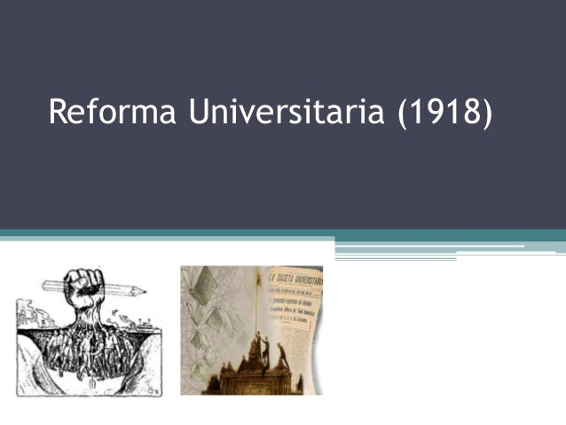 Reforma Universitaria (1918)