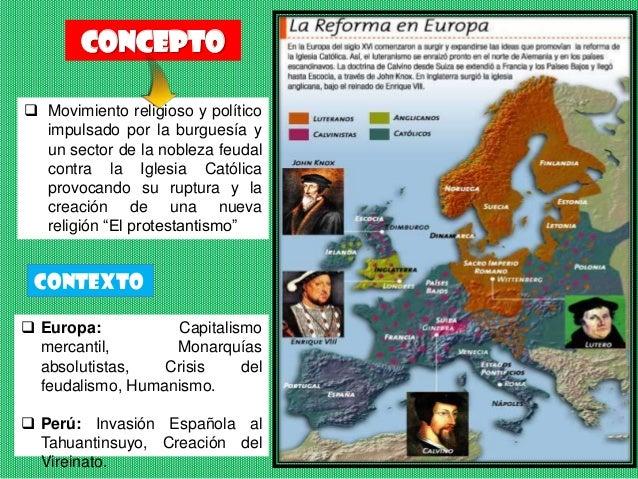 Reforma y contrarreforma religiosa Slide 2