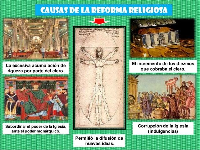 Reforma y contrarreforma religiosa Slide 3