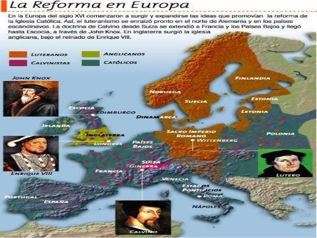 Reforma y contrarreforma (1)