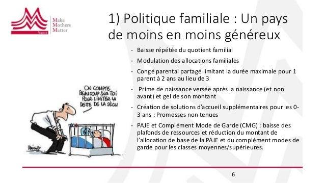 Reforme De La Paje Et Politique Familiale 2018