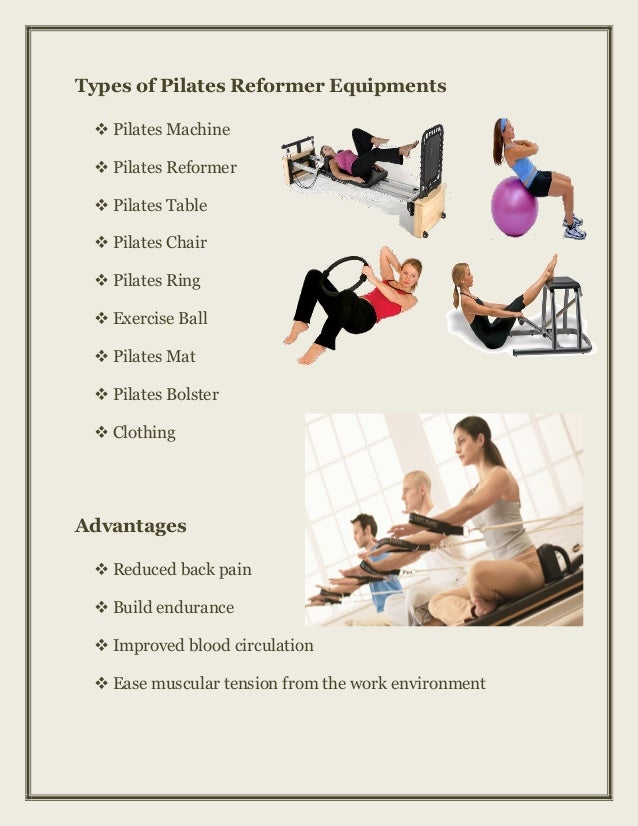 Reformer Pilates Equipment For Sale
