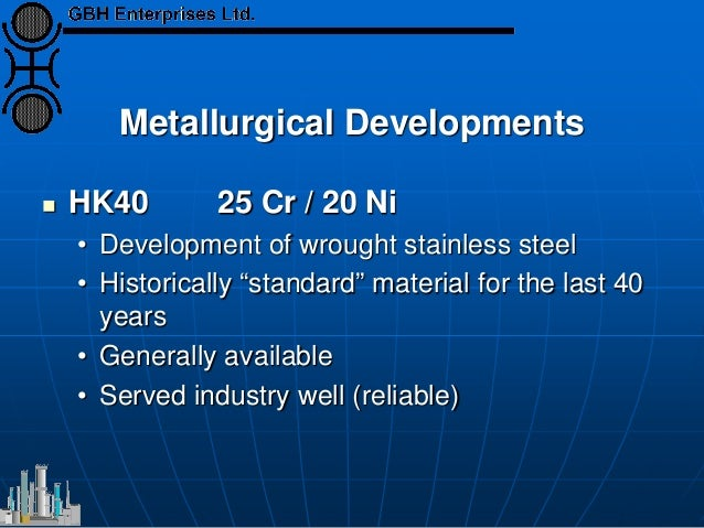 the metallurgy options for tubing Table 86 gives an outline of the approximate relative cost of different tubing options  to the tubing metallurgy and  material selection for.
