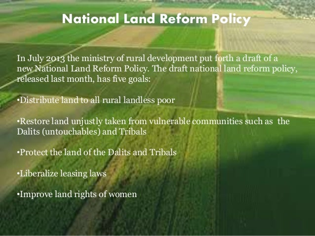 Reforms in Indian agriculture