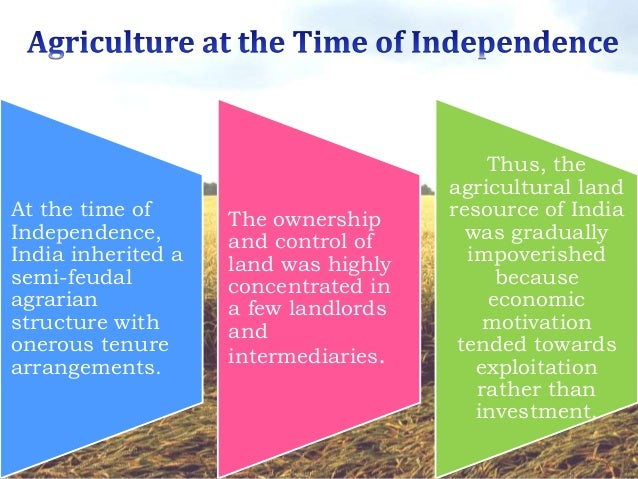 land reforms in india after independence