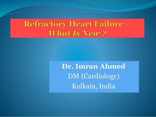 Dr. Imran Ahmed DM (Cardiology) Kolkata, India