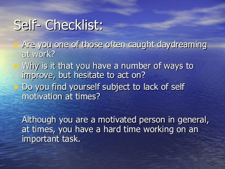 self motivation Self-determination theory focuses on internal sources of motivation including the need for personal growth and fulfillment learn how this process works.