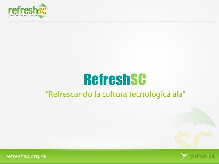 RefreshSC