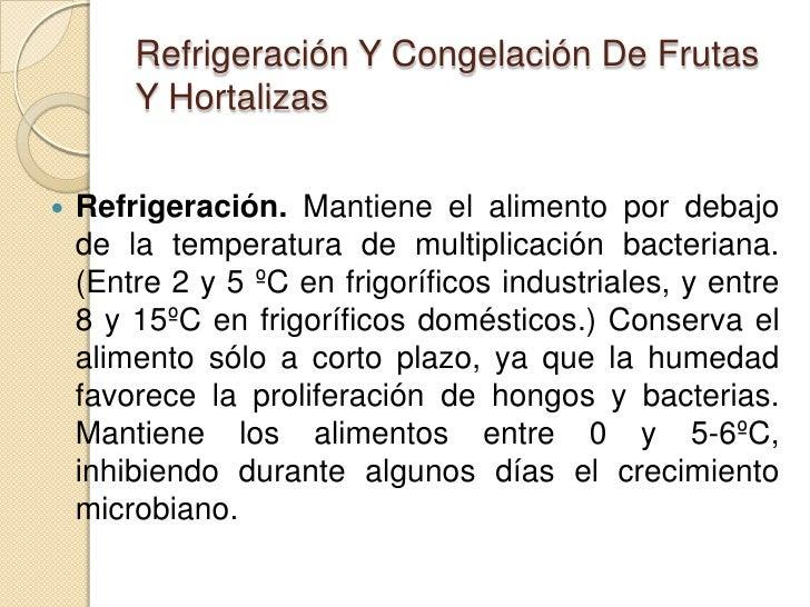 Refrigeracion y congelacion Slide 3
