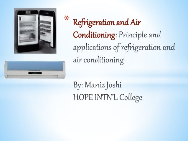 refrigeration and air conditioning by pl ballaney pdf free download