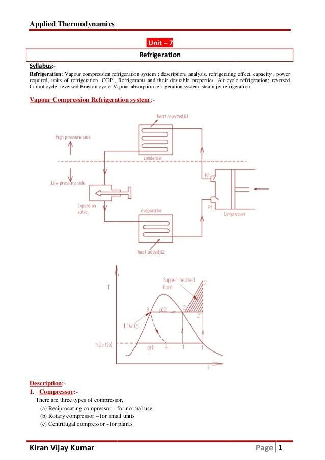 Applied Thermodynamics Pdf