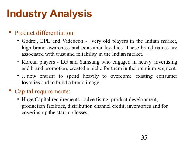 videocon market analysis Home essays videocone marketing strategy videocone marketing strategy (in market capitalisation) the company has two core activities, which include the manufacturing, assembly (videocon) v swot analysis.