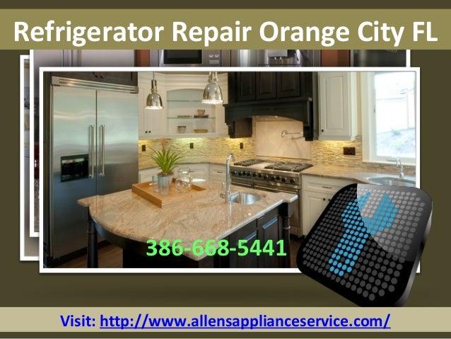 Visit: http://www.allensapplianceservice.com/ Refrigerator Repair Orange City FL 386-668-5441