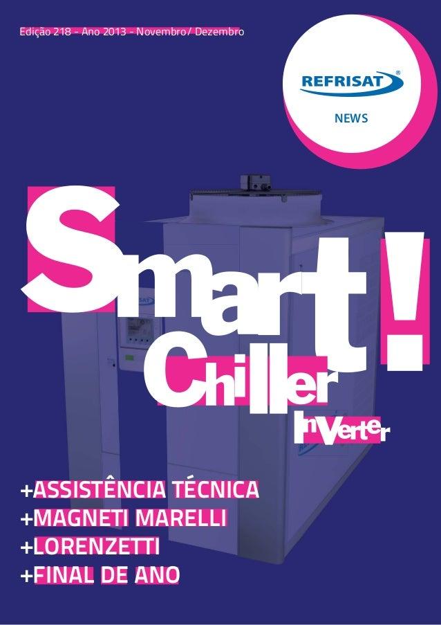 +ASSISTÊNCIA TÉCNICA +MAGNETI MARELLI +LORENZETTI +FINAL DE ANO NEWS Edição 218 - Ano 2013 - Novembro/ Dezembro