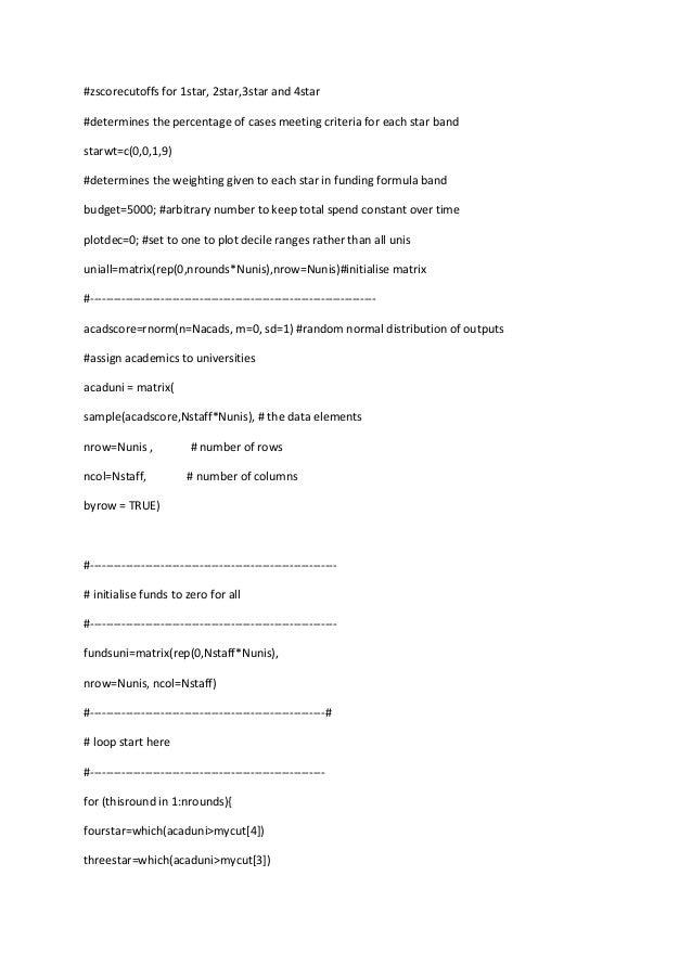Refsim (R program) Slide 2