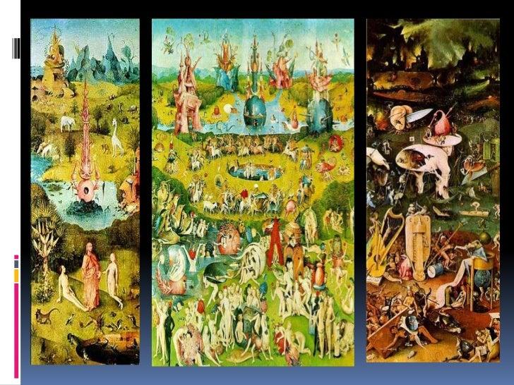 Refuerzo filosofia for El jardin de las delicias significado