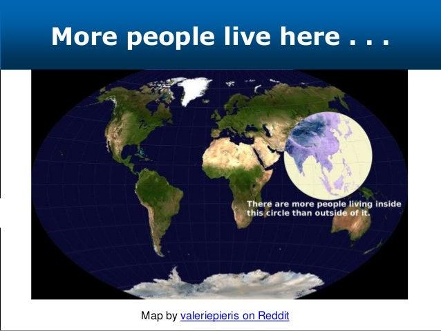 More people live here . . . Map by valeriepieris on Reddit