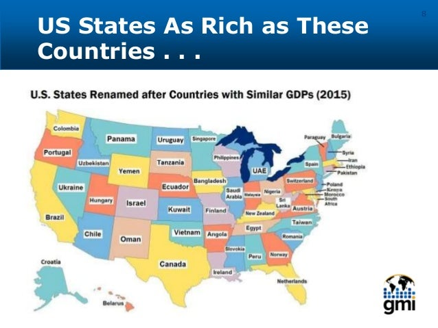 US States As Rich as These Countries . . . 8