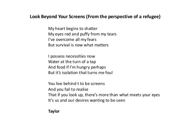 Refugee Reflections