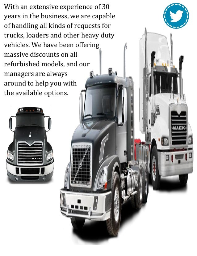 Refurbished heavy duty cab & chassis trucks for sale Slide 3