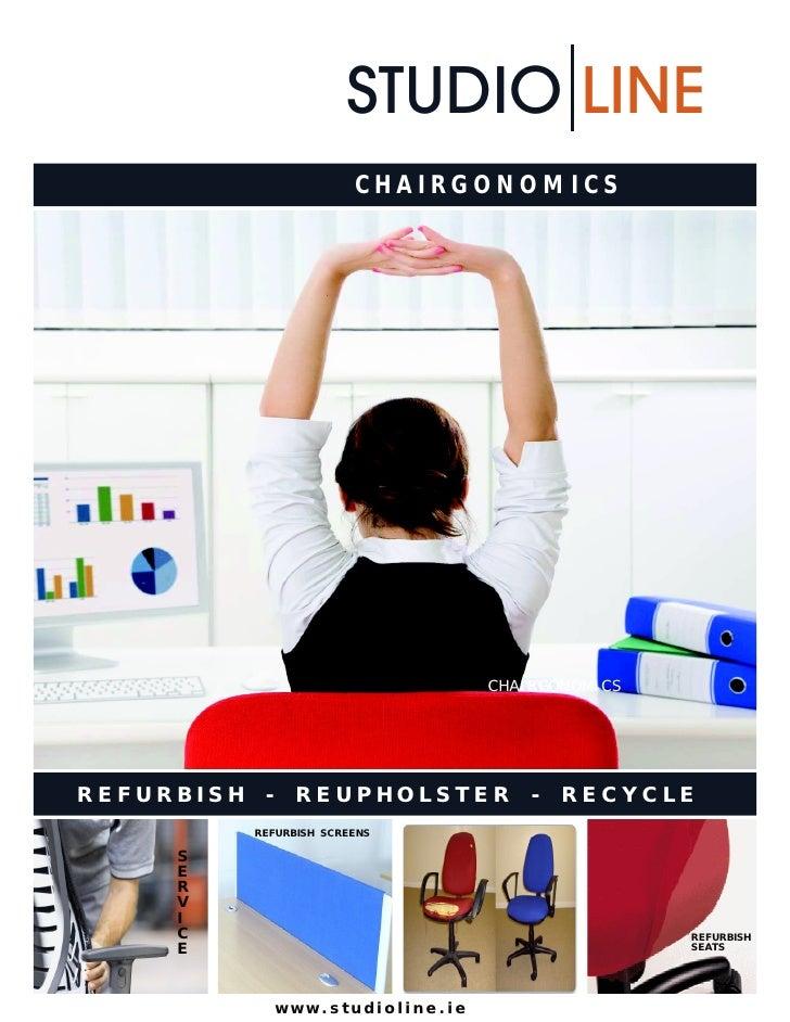 STUDIO LINE                          CHAIRGONOMICS                                     CHAIRGONOMICSREFURBISH    -    REUP...